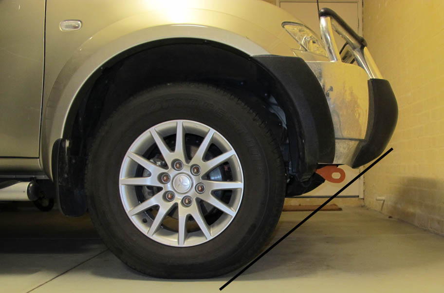 Mitsubishi PB Challenger Recovery Points Approach Angle
