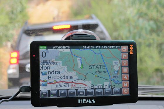 HEMA Navigator HN6 in action