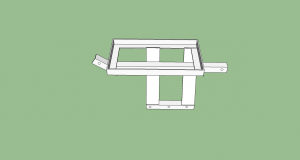 Battery Tray - Sketchup Drawing