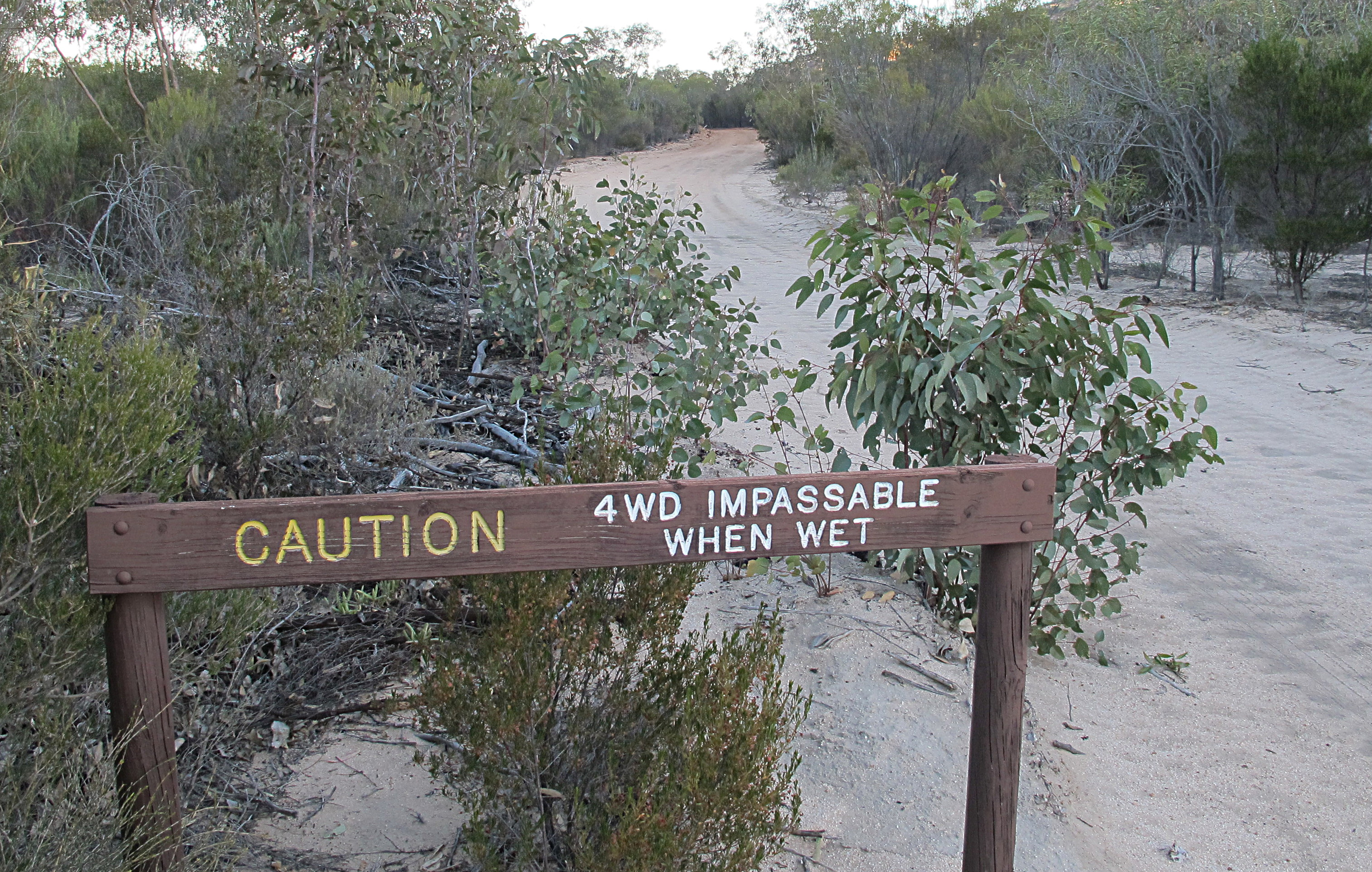 4wd Impassable When Wet